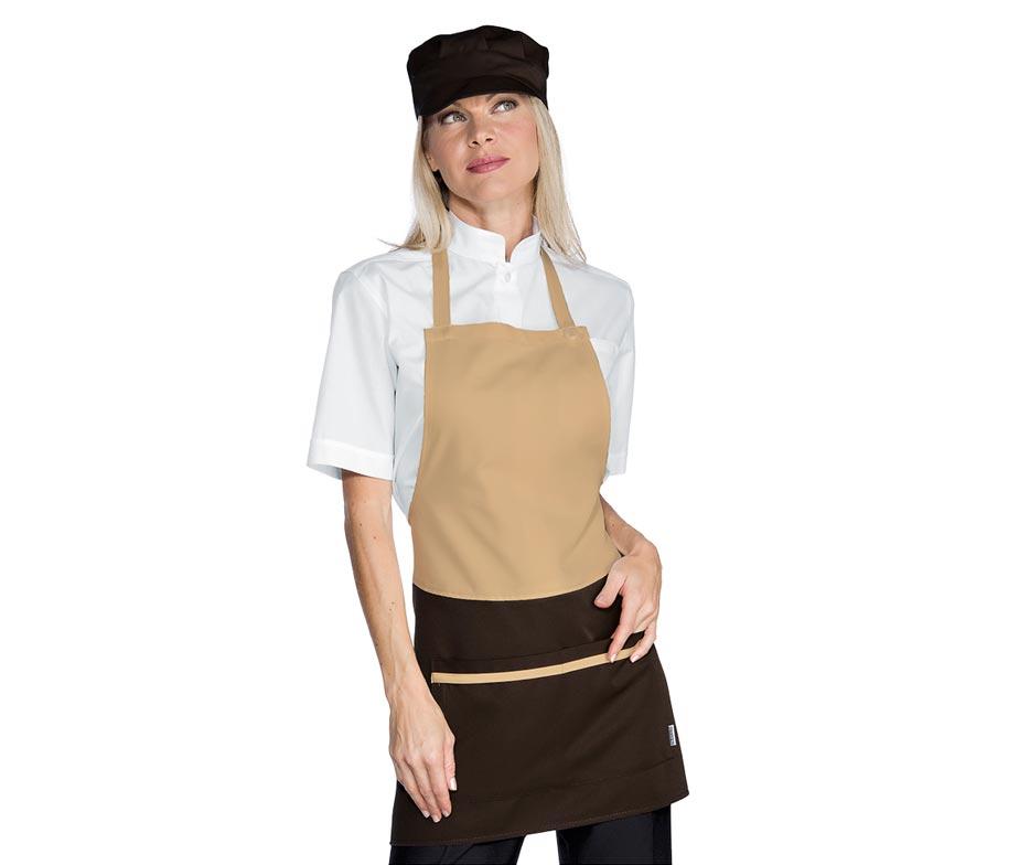 Delantal peto de camarera delantal camarera isacco brooklyn - Zapatos camarera antideslizantes ...