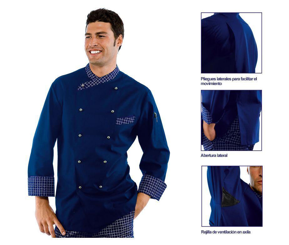 Modelos de chaquetas de chef imagui - Uniformes de cocina ...