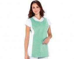 delantal-verde-blanco-sanitario-camarero-isacco