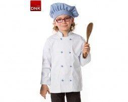 chaquetas de cocinero para niños y niñas infantil