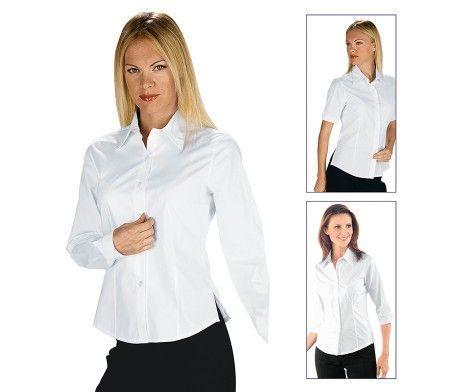 Camisa hostelería blanca
