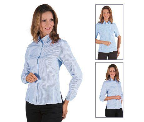 camisa mujer entallada camarera y recepcionista