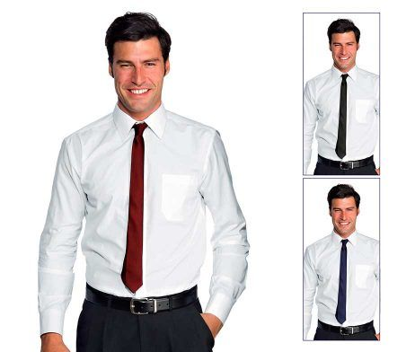 Corbata estrecha camarero hostelería recepcionista