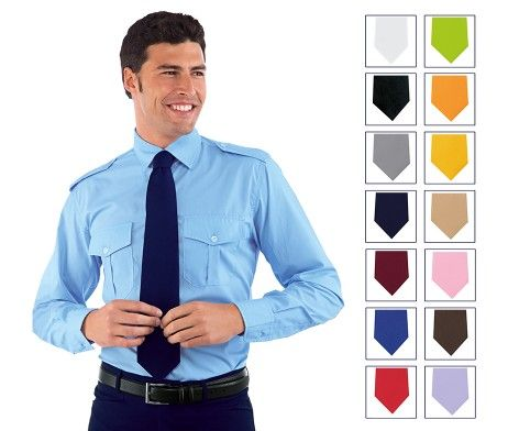 Corbata unisex camarero hostelería recepcionista
