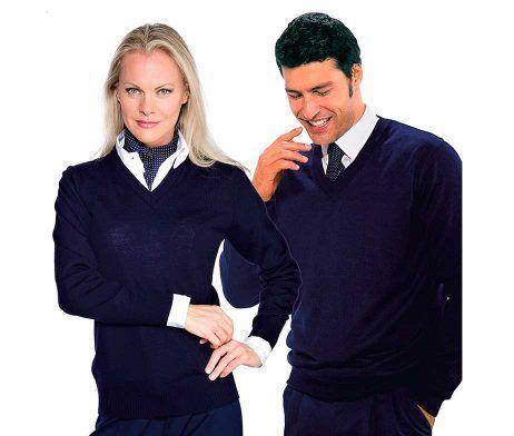jersey de punto unisex para trabajar