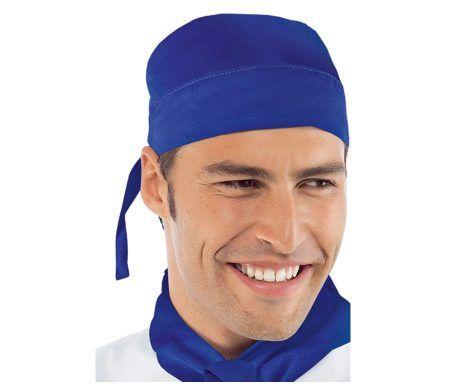 bandana de cocina color azul