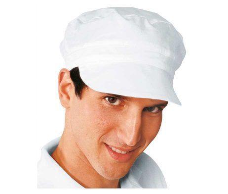 gorra sin rejilla de cocina blanca