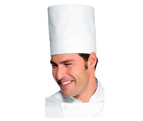gorro cocinero lavable