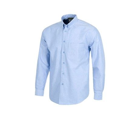 camisas azul cielo blanca de trabajo