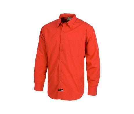 camisa de trabajo laboral rojo