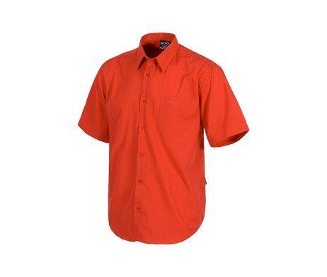 camisa trabajo manga corta bolsillo
