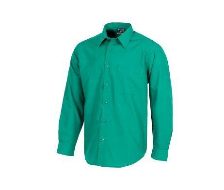 camisa de trabajo laboral verde