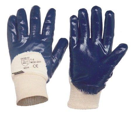 guantes de trabajo de nitrilo