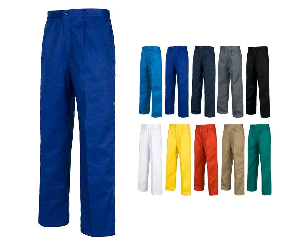 Pantalon De Trabajo Cintura Elastica Pantalones Laborales Workteam