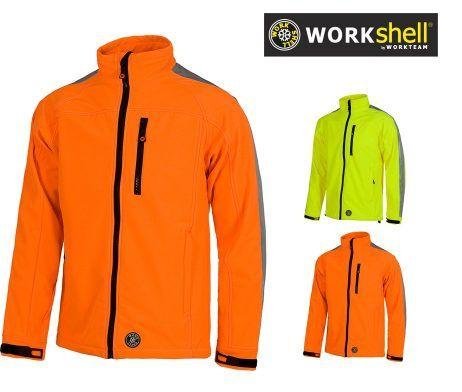 chaqueta de trabajo reflectante para el frio