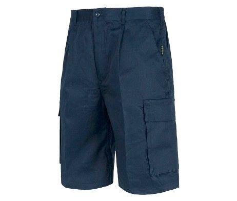 Pantalón bermuda multibolsillos