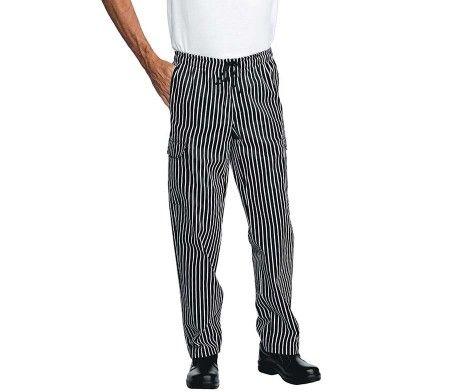 pantalon cocinero de rallas