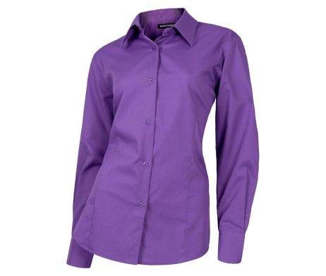 camisa entallada mujer