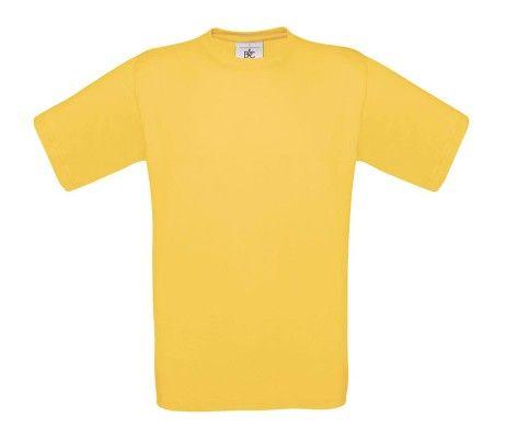 camiseta manga corta hombre amarillo