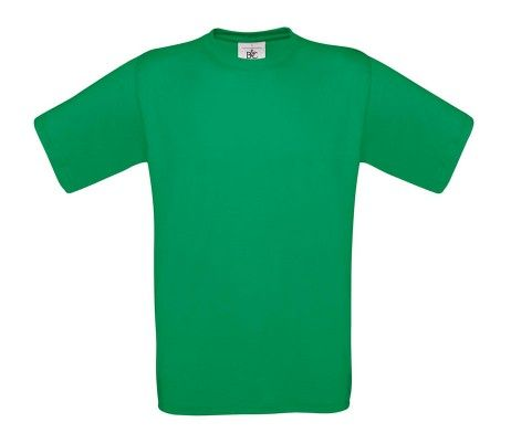 camiseta manga corta hombre verde