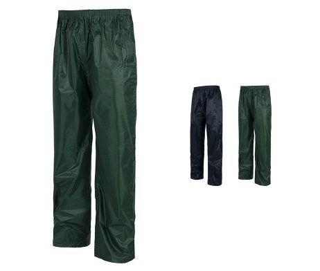 pantalón para la lluvia impermeable