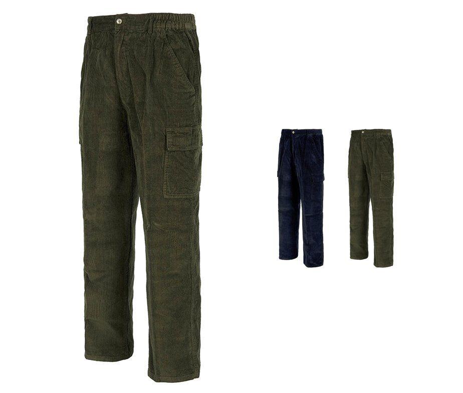 77e8d7ae1c Pantalón de pana multibolsillos para trabajo. Pantalón WorkTeam