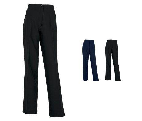 pantalon recto de mujer camarera recepcionista