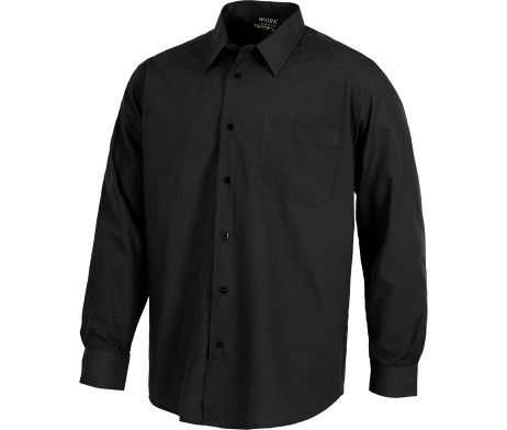 camisa negra trabajo profesional