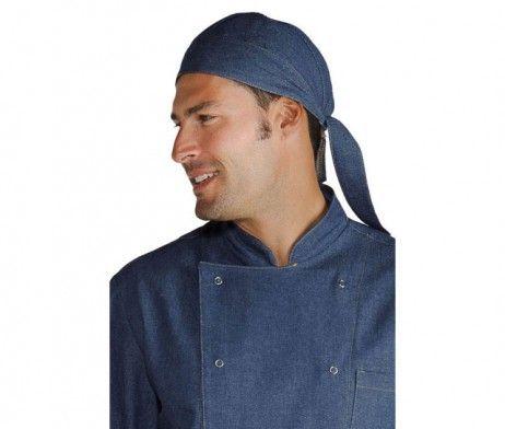 Bandana para cocineros tejido vaquero