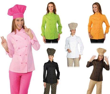 Chaqueta chef cocinera