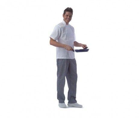 casaca cocinero para restaurantes y hostelería blanca