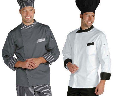 Chaqueta cocinero moderna original elegante