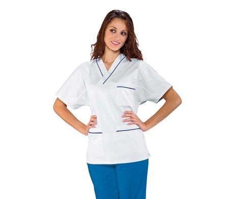 casaca sanitaria pijama enfermero cuello v