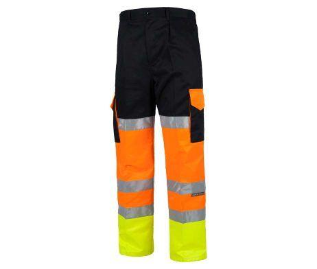pantalón alta visibilidad cintas reflectantes