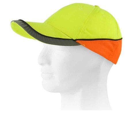 gorra alta visibilidad naranja amarillo