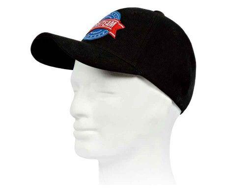 gorra protección frio negra
