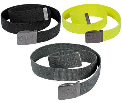 Cinturón elástico laboral hebilla metálica WFA501