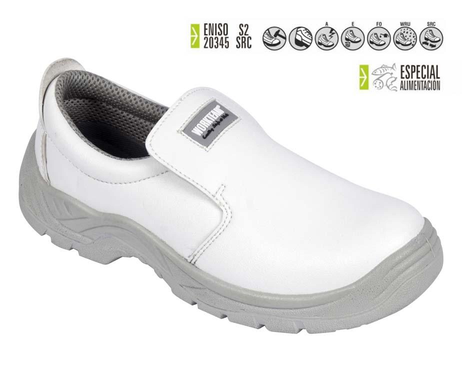 Total Zapato Seguridad SanidadCalzado Y Cocina Blanco Alimentación c3L5jA4Rq