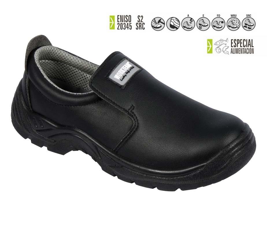 Zapato seguridad total blanco cocina y sanidad calzado - Zapatos antideslizantes cocina ...