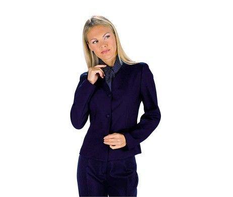 chaqueta americana mujer uniforme hotel azul marino
