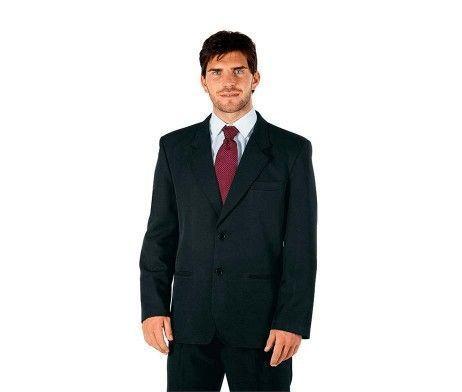 chaqueta caballero americana negra