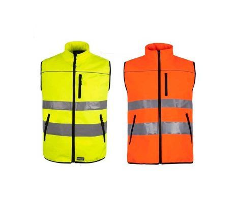 chaleco alta visibilidad amarillo reflectante