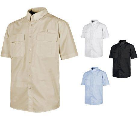Camisa Safari de Trabajo Transpirable de Manga Corta referencia B8510