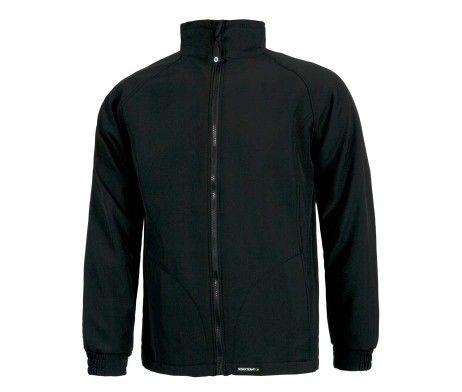 chaqueta para el frío color negro
