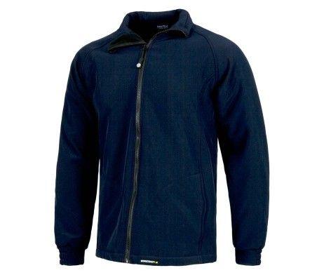 chaqueta para el frío color azul