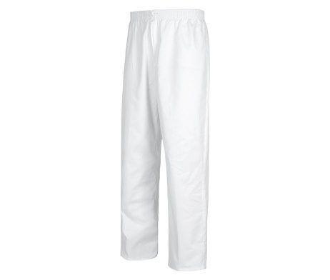 pantalón sanitario color blanco con gomas