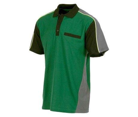 polo laboral color verde