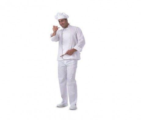 casaca blanca de cocina