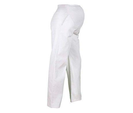 pantalón blanco premamá embarazada profesional sanidad