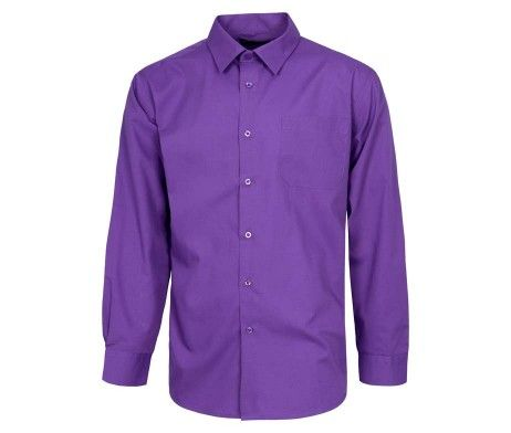 Camisa morada especial hostelería